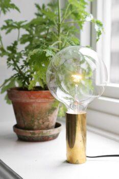 Gold Lampe dorée Diy