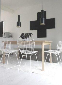 Design Diamond Chair Side Chair Bertoia L Nmclwm