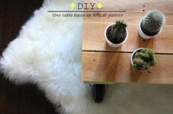 Diyourself Table Basse Bois Palette L Ds4fxv