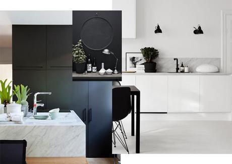Inspiration Couleur Deco Black Marbre L Qrjlus