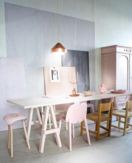 Inspiration Couleur Rose Poudre Cuivre L Apjx5f