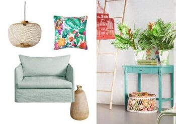 Inspiration Deco Ambiance Tropicale L Pkt1bl