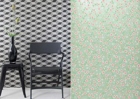 Inspiration Deco Papier Peint Floral Vs Geome L Rwqsjl