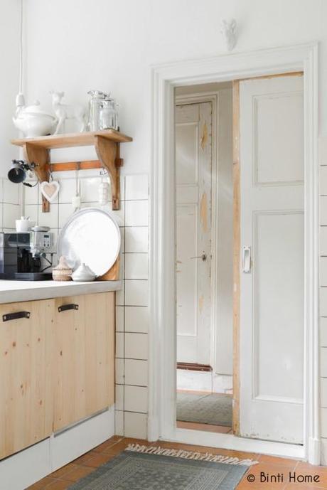 Inspiration Deco Touches Bois Brut Maison Sca L G4nui